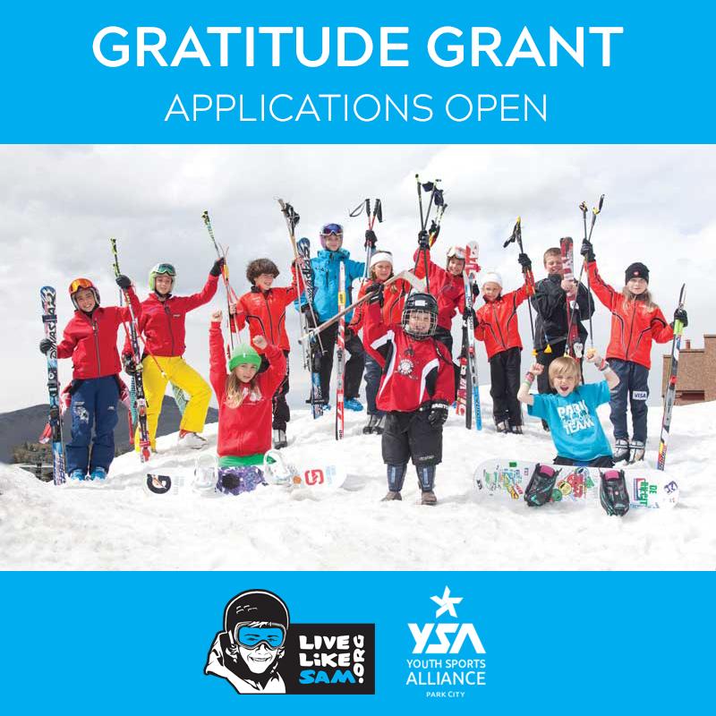 Live Like Sam YSA Gratitude Grant