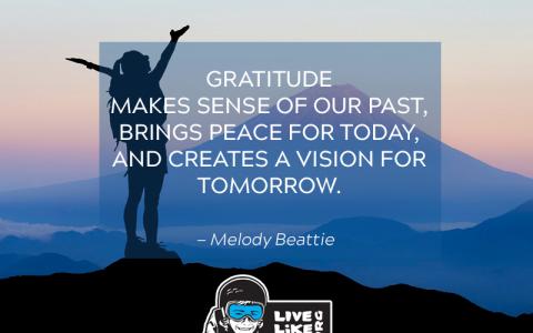 Live Like Sam gratitude