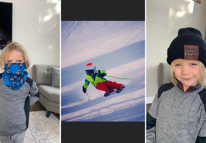 six year old skier soelden lives like sam