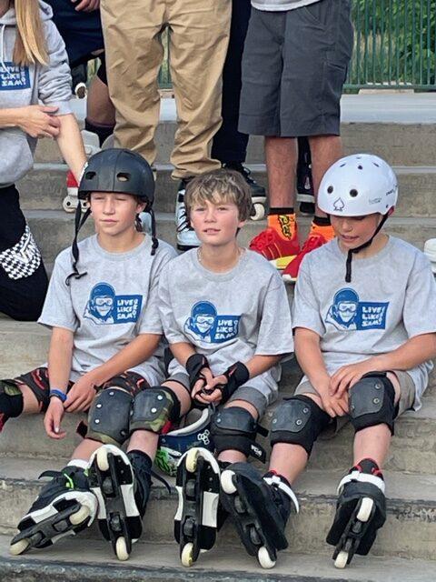 revolution ski and blade competitors and teammates