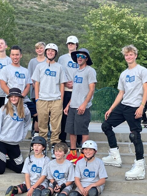 revolution ski and blade holds first competition