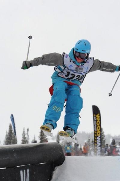 Ski Jumper Blue